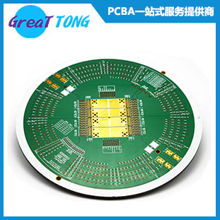 8 Layer PCB Prototype for Testing System / 5.0mm Thickness Immersion Gold